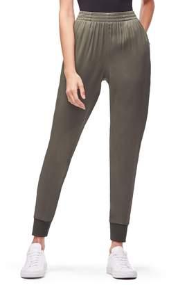 Good American Satin Jogger Pants