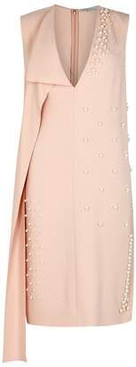 Stella McCartney Faux Pearl-embellished Dress