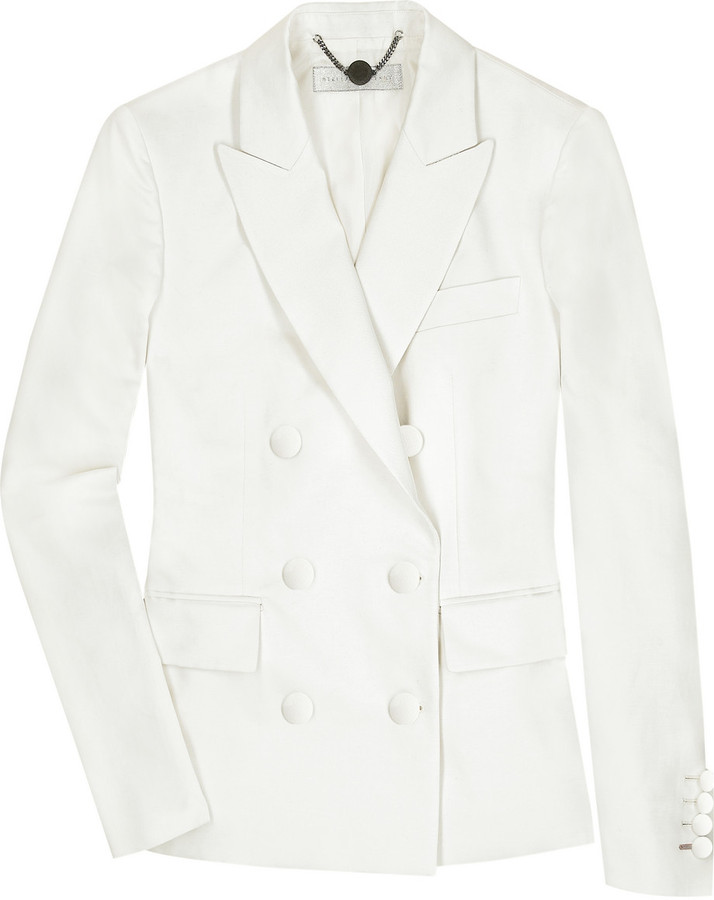 Stella McCartney Linen-blend jacket