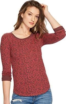 Lucky Brand Women's Cheetah Print Pullover