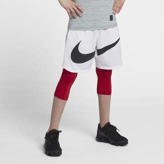 Nike Pro Big Kids' (Boys') 3/4 Training Tights