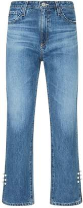 AG Jeans Isabelle Straight Leg Cropped Jeans