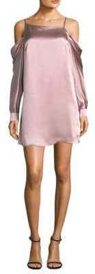 Parker Camille Off-The-Shoulder Mini Dress