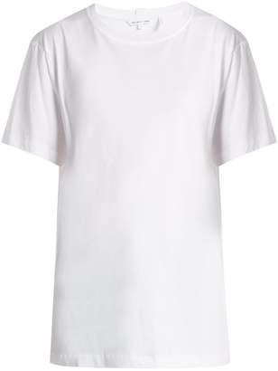 Helmut Lang Logo-print cotton jersey T-shirt