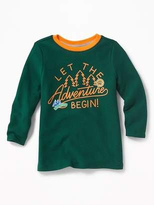 Old Navy Graphic Thermal Tee for Toddler Boys