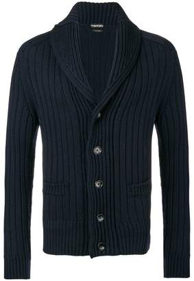 Tom Ford ribbed cardigan