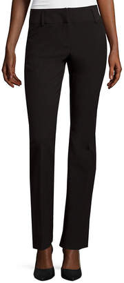 WORTHINGTON Worthington Modern Fit Straight-Leg Pants