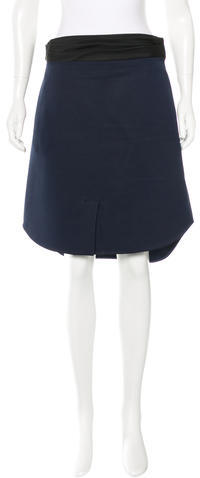 3.1 Phillip Lim3.1 Phillip Lim Wool-Blend Knee-Length Skirt