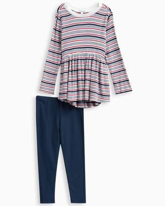 Splendid Little Girl Rib Stripe Sweater Set