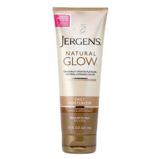 Jergens Natural Glow Daily Moisturiser Medium to Tan 221 mL