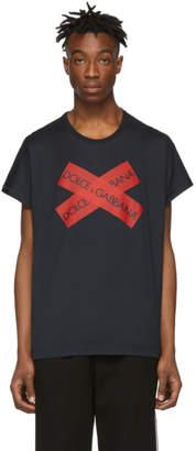 Dolce & Gabbana Navy Logo T-Shirt