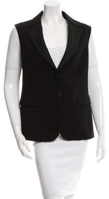 Neil Barrett Notch-Lapel Button-Up Vest
