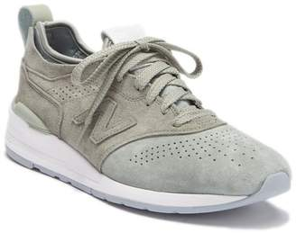 New Balance Perforated Suede Sneaker