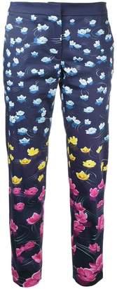 Mary Katrantzou Rainbow lily trousers