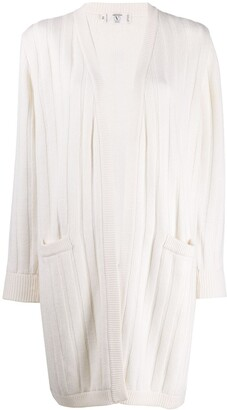 Valentino Pre-Owned '1980s ribbed cardigan