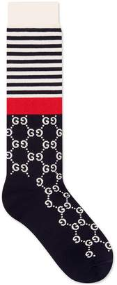 Gucci Cotton socks with GG motif