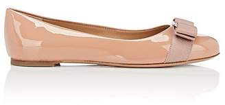 Salvatore Ferragamo Women's Varina Patent Leather Flats