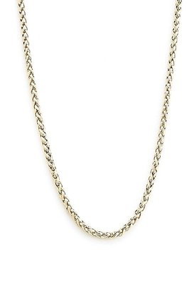 Vitaly Basket Weave Chain Necklace $35 thestylecure.com