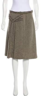 Pierre Cardin A-Line Knee-Length Skirt