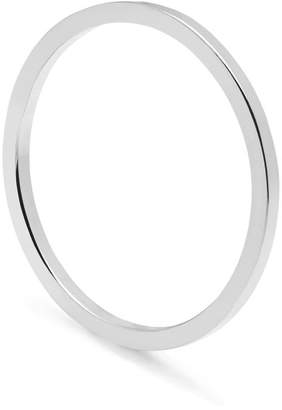 Myia Bonner Silver Skinny Square Stacking Ring