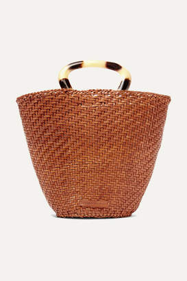 Loeffler Randall Agnes Woven Leather Tote - Brown