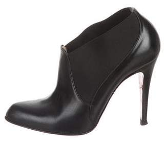 Christian Louboutin Pointed-Toe Ankle Booties