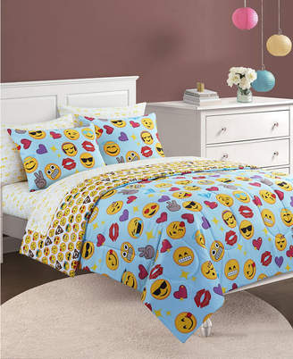Idea Nuova Emoji Bling Bed In A Bag, Twin Bedding