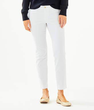 """Lilly Pulitzer Womens 29"""" Kelly Textured Ankle Length Skinny Pant"""