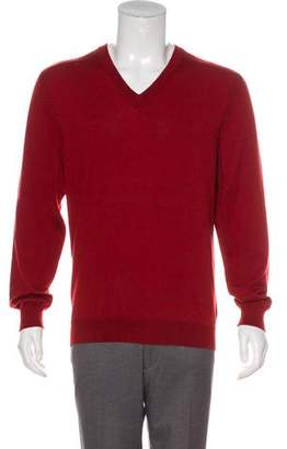 Maison Margiela Wool V-Neck Sweater