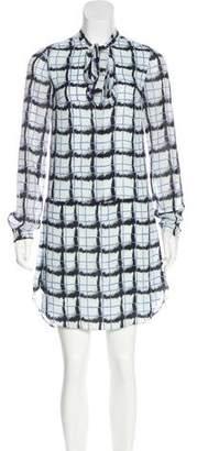 Reiss Long Sleeve Mini Dress
