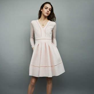 25f90bc24b Maje Skater Dress - ShopStyle