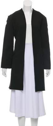 Paper London Open Front Knee-Length Coat