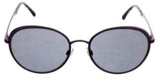Chanel Round Signature Sunglasses