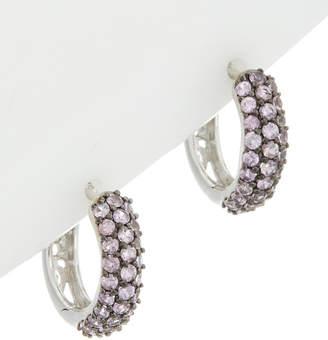 Effy Fine Jewelry 14K 1.51 Ct. Tw. Purple Sapphire Hoops