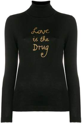 Bella Freud Love Is The Drug sweater
