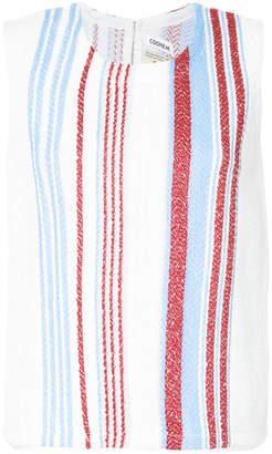 Coohem striped knit tank top