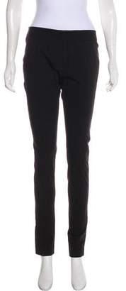 Diane von Furstenberg Skinny Stretch Mid-Rise Pants