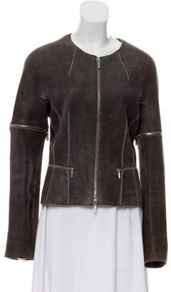 Sylvie Schimmel Suede Leather Jacket