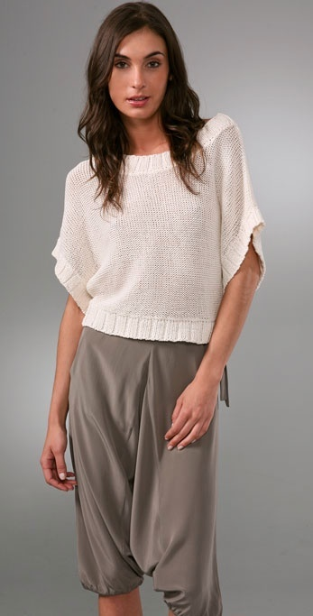 Twelfth St. By Cynthia Vincent Cropped Sweater