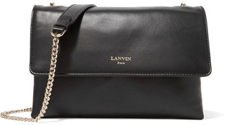Lanvin - Sugar Mini Leather Shoulder Bag - Black $1,495 thestylecure.com