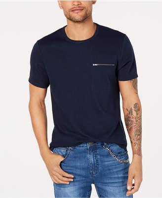 INC International Concepts I.n.c. Men Zip-Pocket T-Shirt