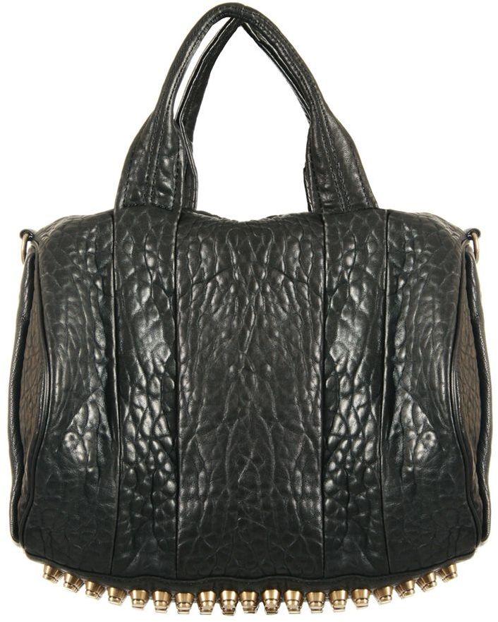 ALEXANDER WANG Rocco Leather Duffle Bag