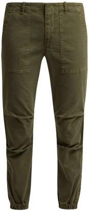 Nili Lotan Loden stretch-cotton military trousers