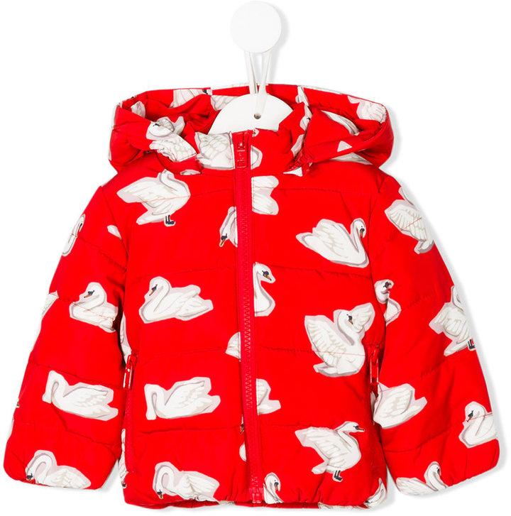 Stella McCartney Hubert swan jacket