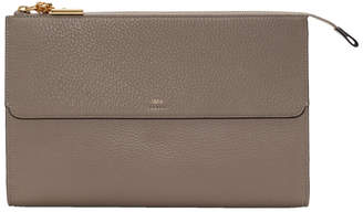 Chloé Grey Joe Zip Clutch