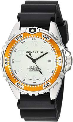Momentum Women's Quartz Watch   M1 Splash by Momentum  Stainless Steel Watches for Women   Dive Watch with Japanese Movement & Analog Display   Water Resistant Ladies Watch with Date –Lume/