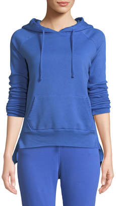 Frank And Eileen Hooded Cotton Fleece Pullover Sweater