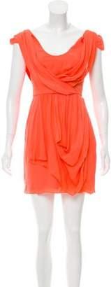 Tibi Draped Silk Dress w/ Tags