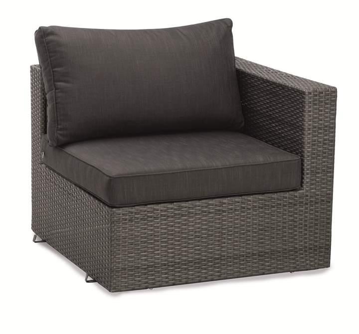 Best Freizeitmöbel Eckelement Lounge Aruba (inkl. Sitz-und Rückenpolster)