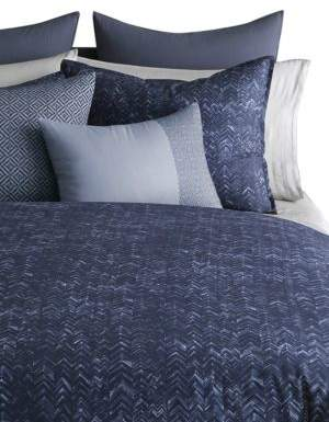 Vera Wang Chevron Print Queen Duvet Cover